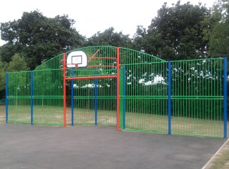 MUGA Goal Wall - Type 3